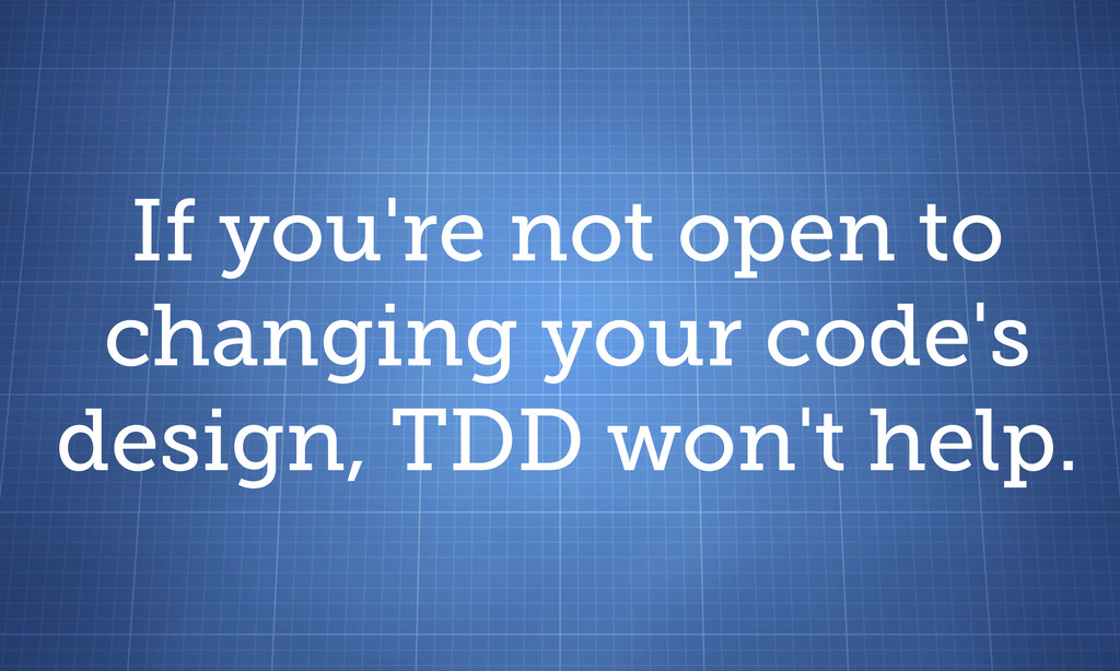 If you're not open to changing your code's desi...