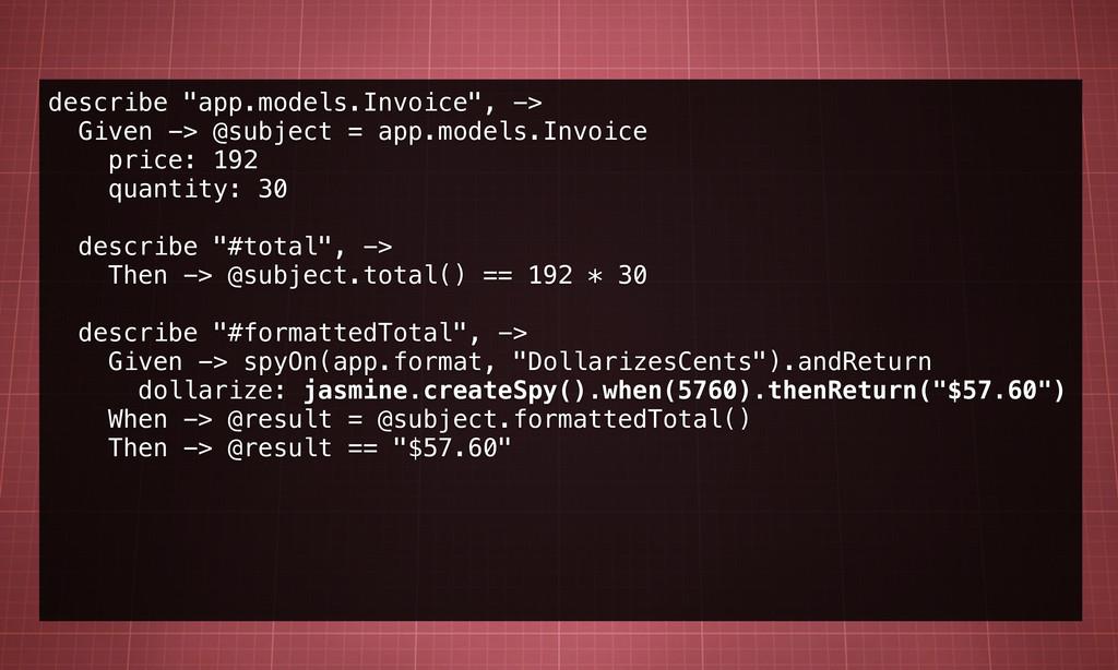 """describe """"app.models.Invoice"""", -> Given -> @sub..."""