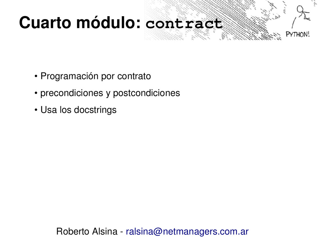 Cuarto módulo: contract • Programación por cont...