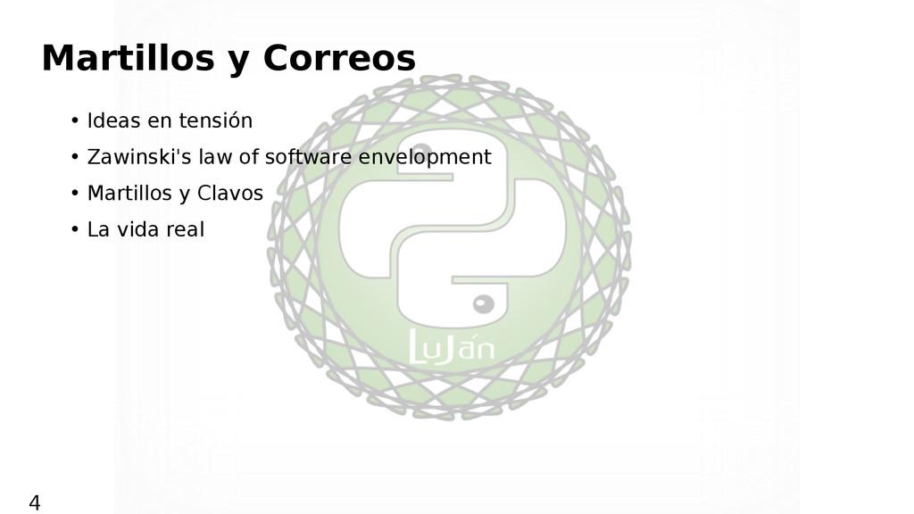 Martillos y Correos • Ideas en tensión • Zawins...