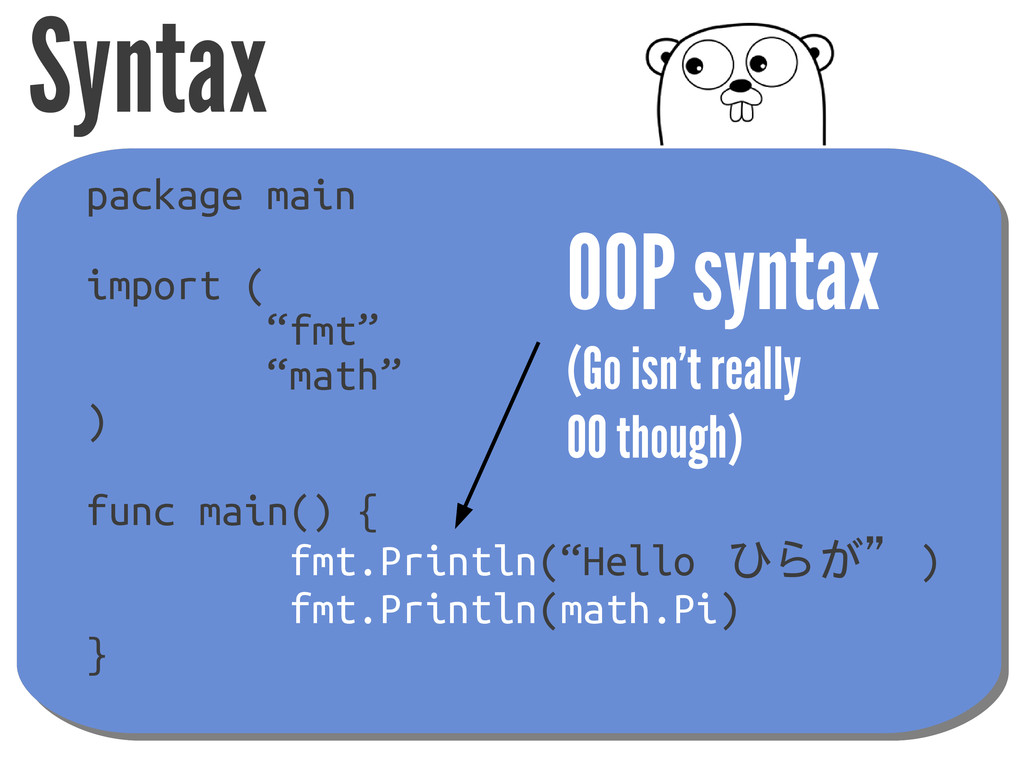 "Syntax package main import ( ""fmt"" ""math"" ) fun..."