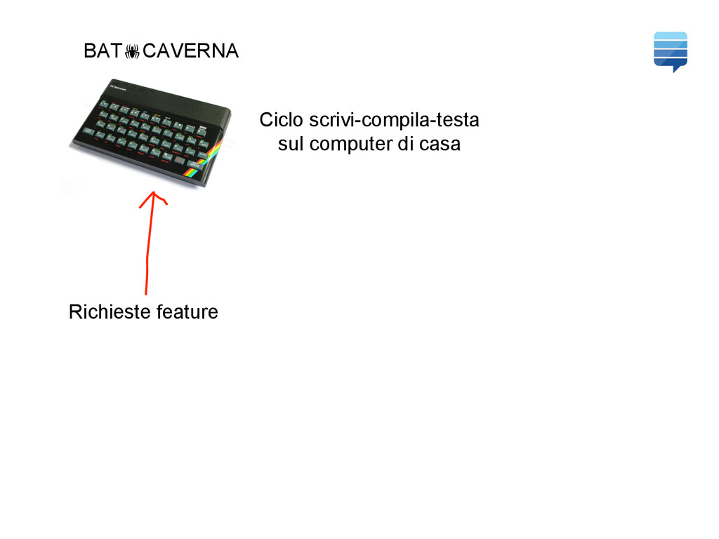 BAT!CAVERNA Ciclo scrivi-compila-testa sul comp...