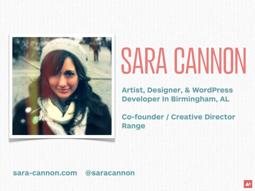 SARA CANNON Artist, Designer, & WordPress Devel...
