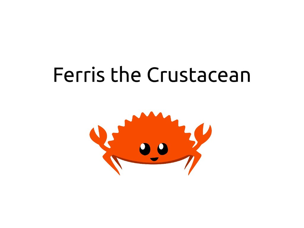 Ferris the Crustacean