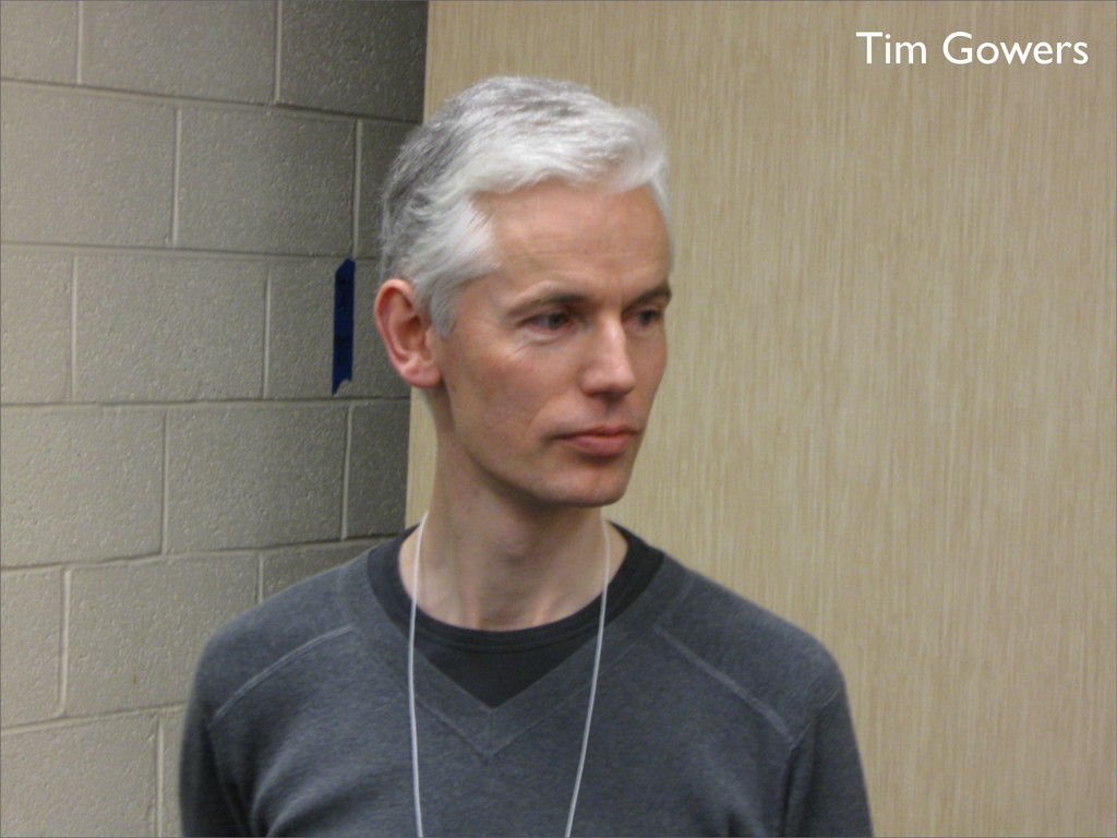 Tim Gowers