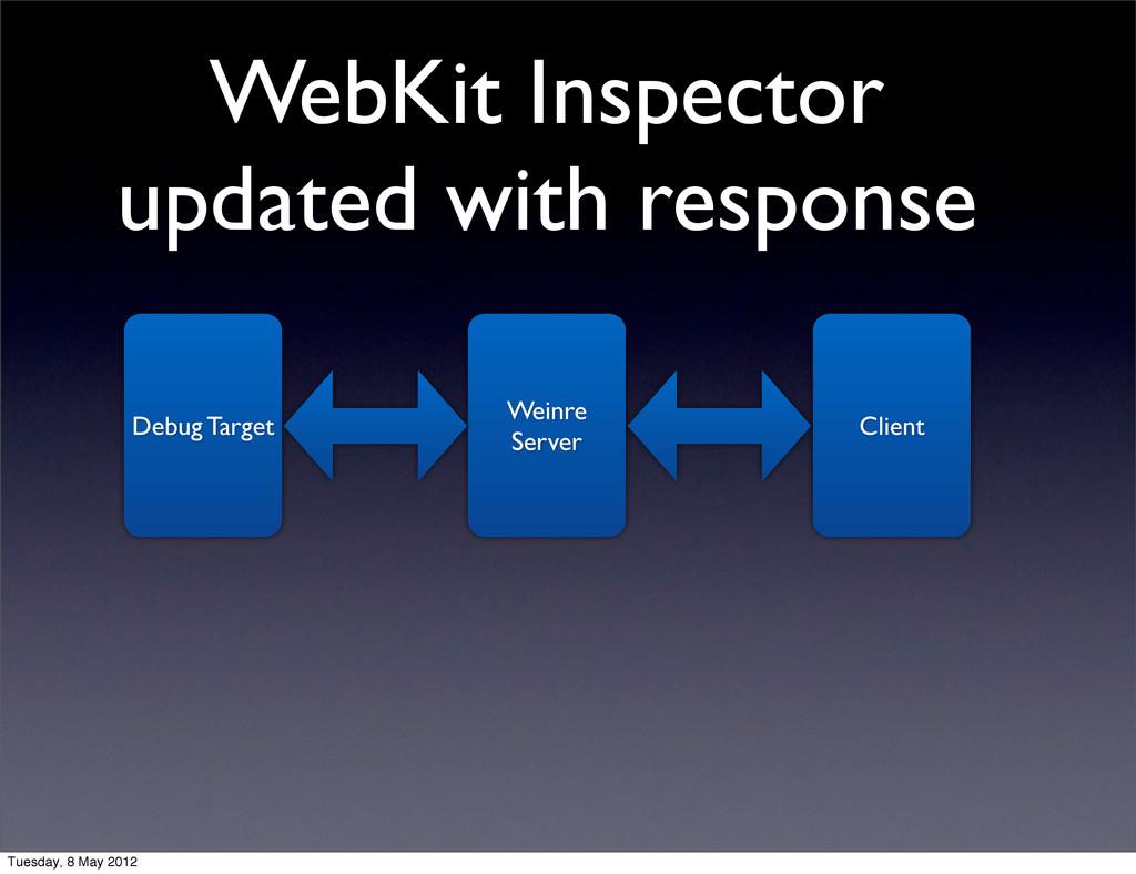 WebKit Inspector updated with response Debug Ta...