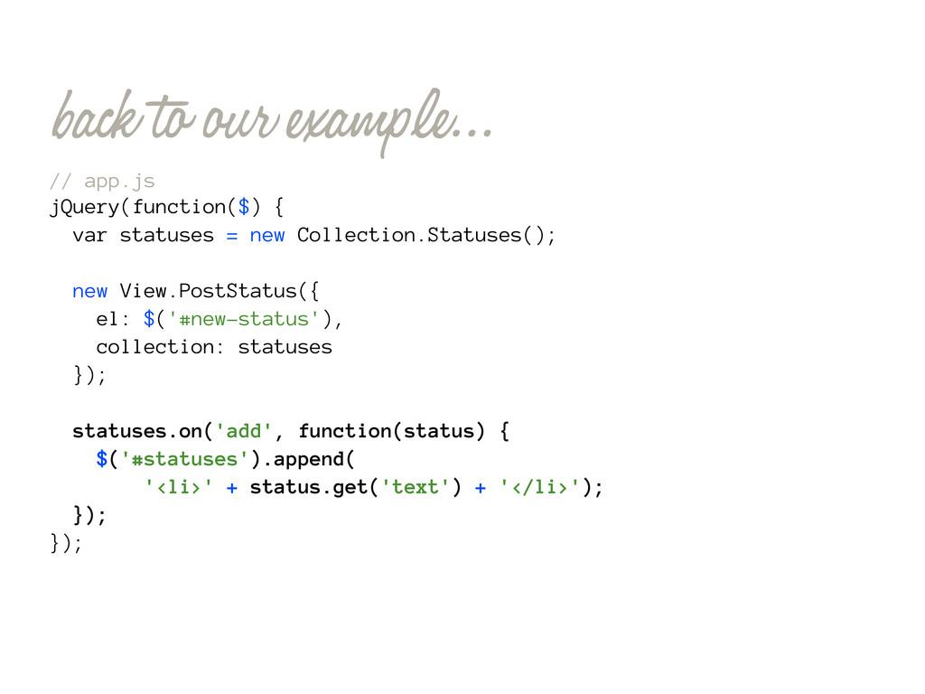 // app.js jQuery(function($) { var statuses = n...