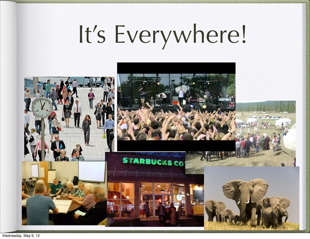 It's Everywhere! Wednesday, May 9, 12
