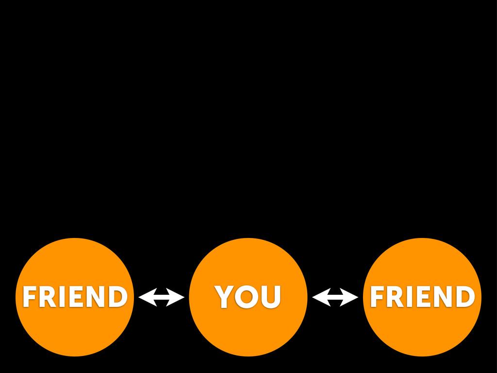 YOU FRIEND FRIEND