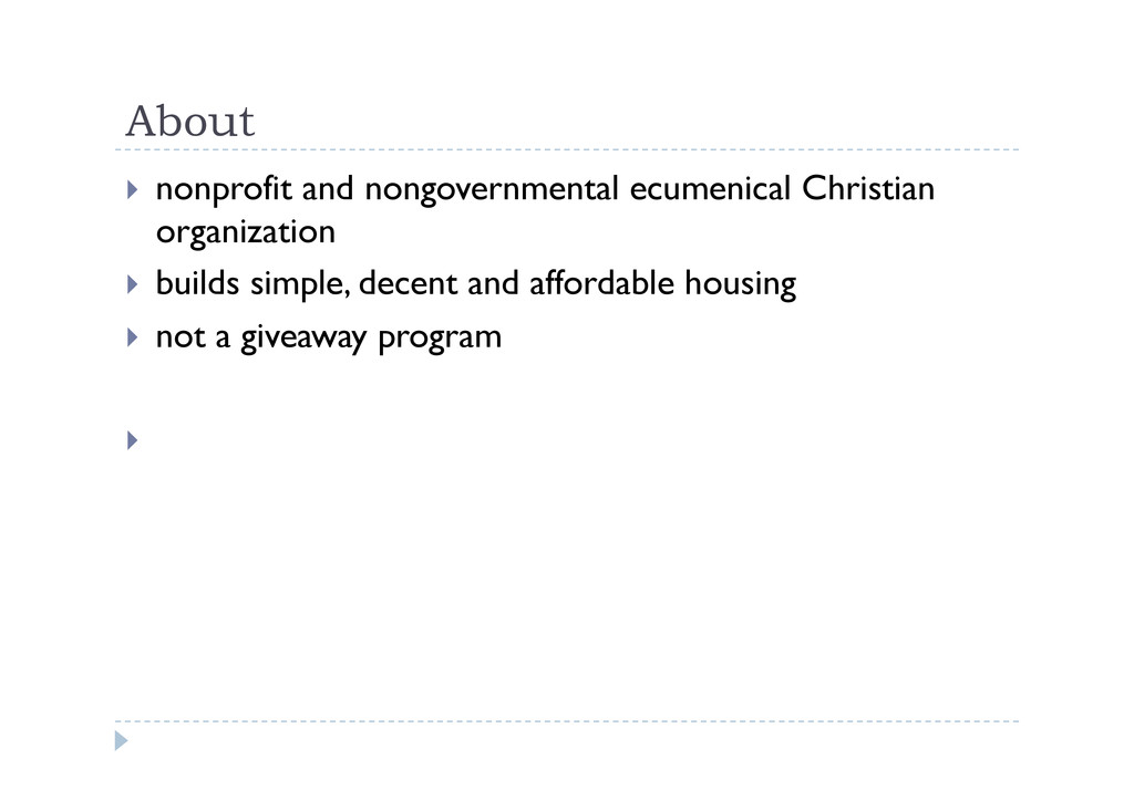 About  nonprofit and nongovernmental ecumenic...