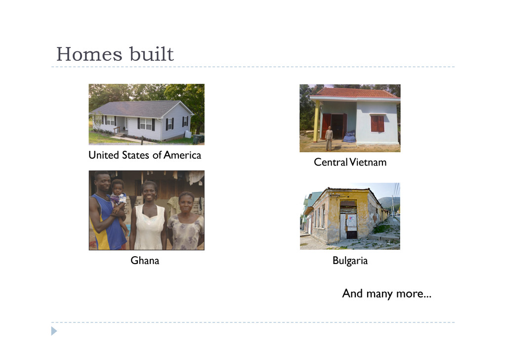 Homes built United States of America Central Vi...