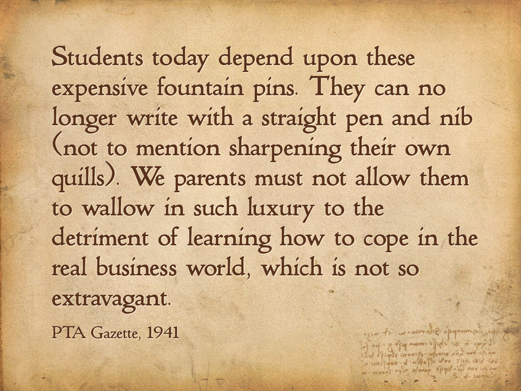 Students today depend upon these expensive foun...