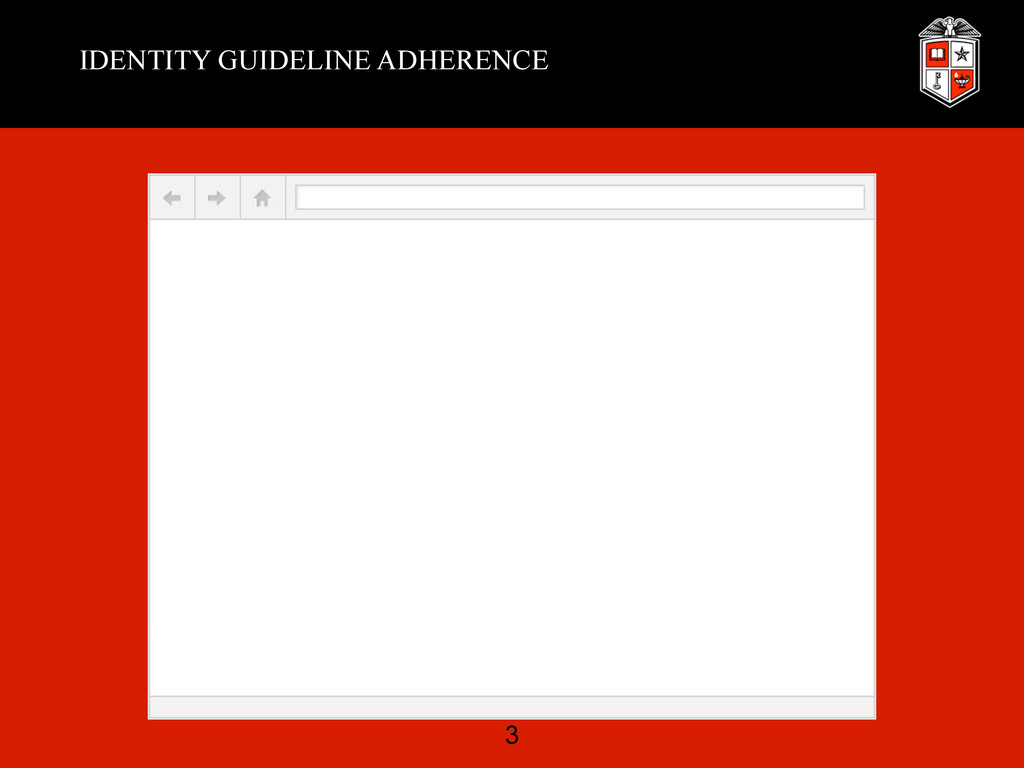 IDENTITY GUIDELINE ADHERENCE 3