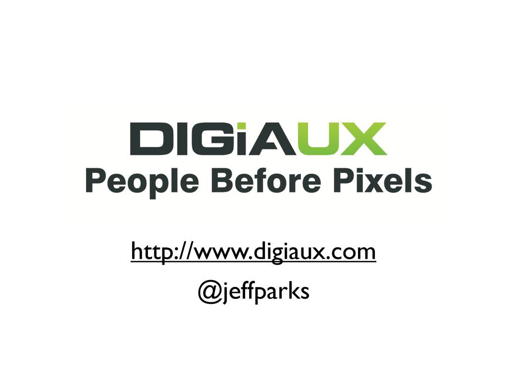 http://www.digiaux.com @jeffparks