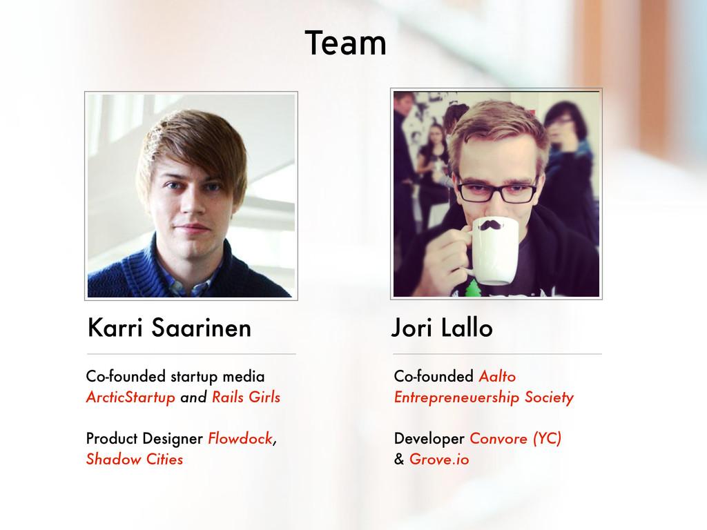Karri Saarinen Co-founded startup media ArcticS...