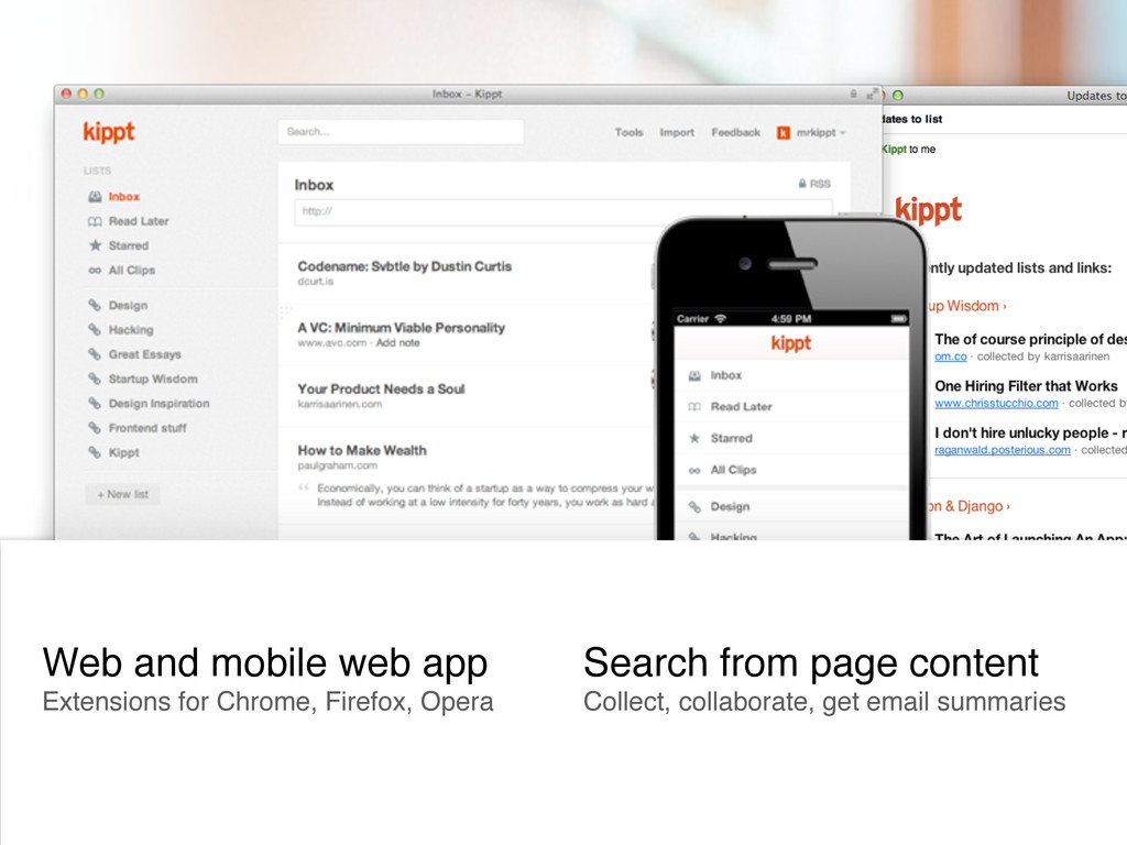 Web and mobile web app Extensions for Chrome, F...