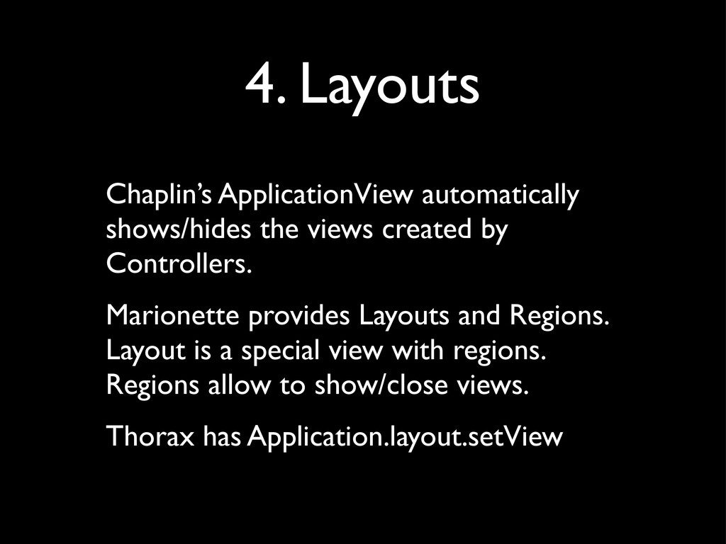 4. Layouts Chaplin's ApplicationView automatica...