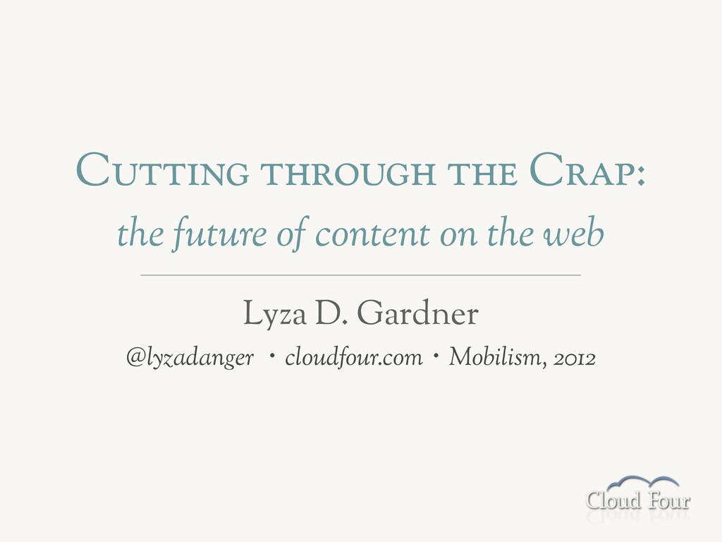 """C!""""""""#$% """"&'(!%& """"&) C'*+: the future of content..."""