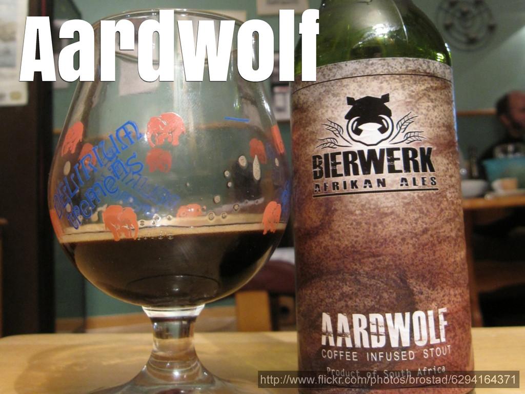 Aardwolf http://www.flickr.com/photos/brostad/6...