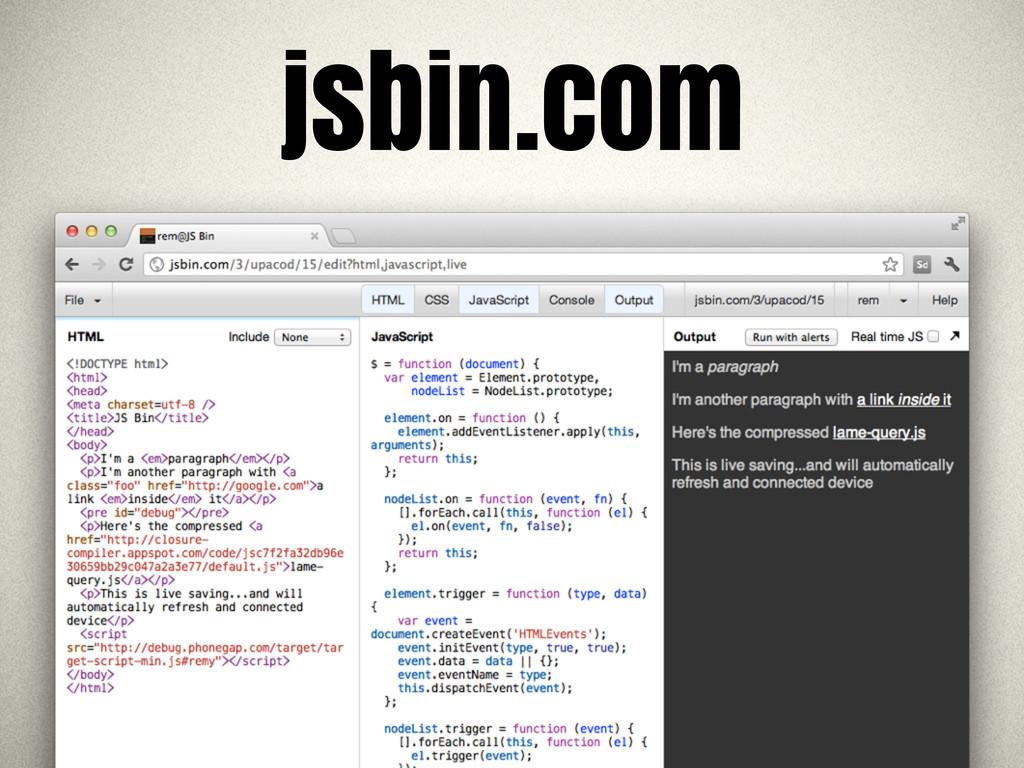jsbin 3 jsbin.com
