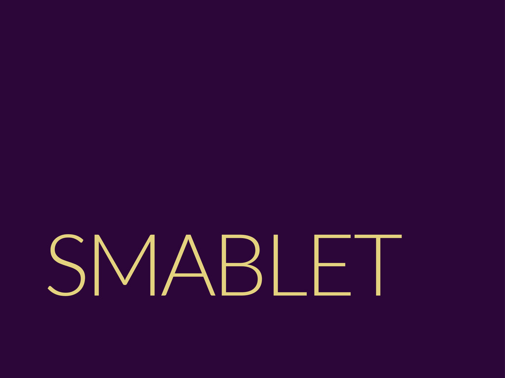 SMABLET