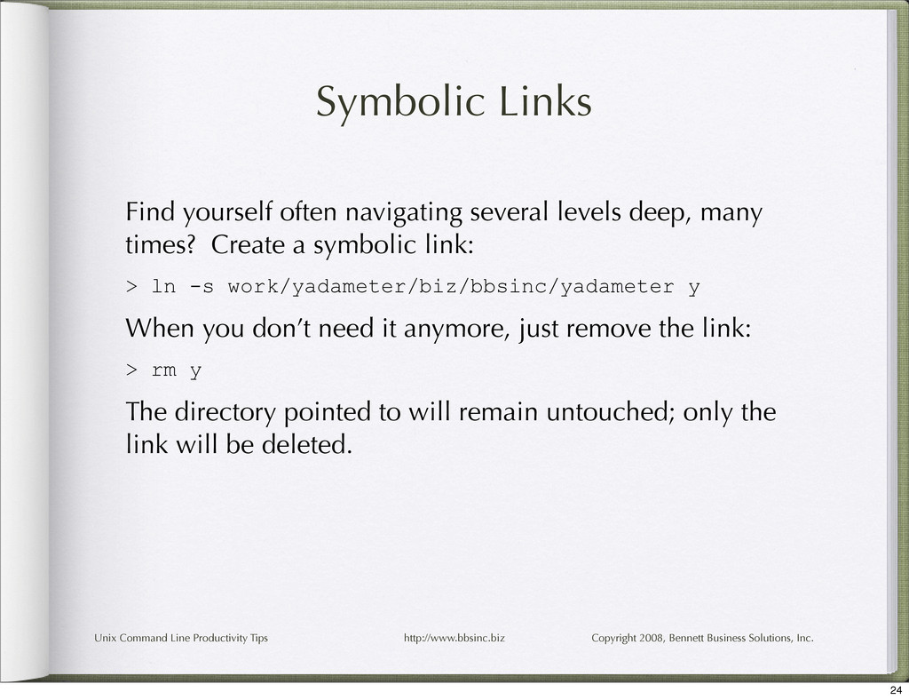 Unix Command Line Productivity Tips http://www....