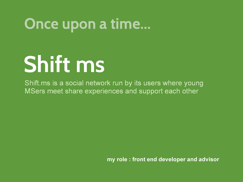 Shift ms Shift.ms is a social network run by it...
