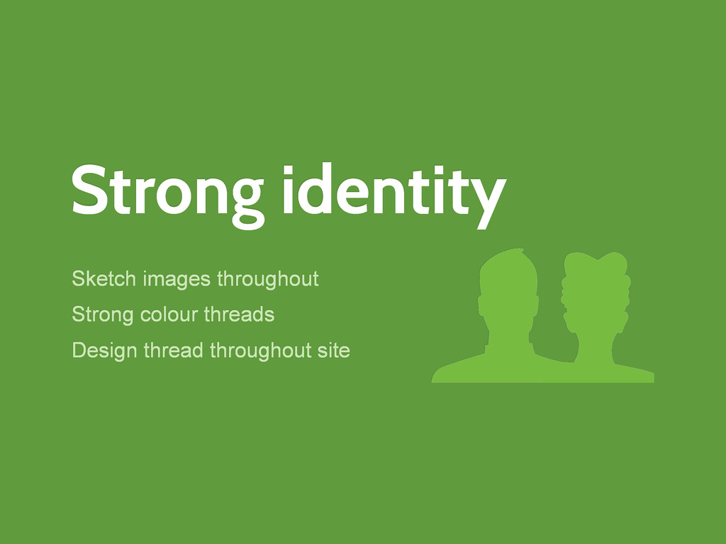 Strong identity Sketch images throughout Strong...