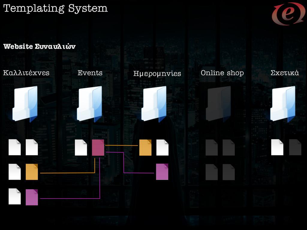 Templating System Events ∫·ÏÏÈÙ€¯Ó˜ Online sho...