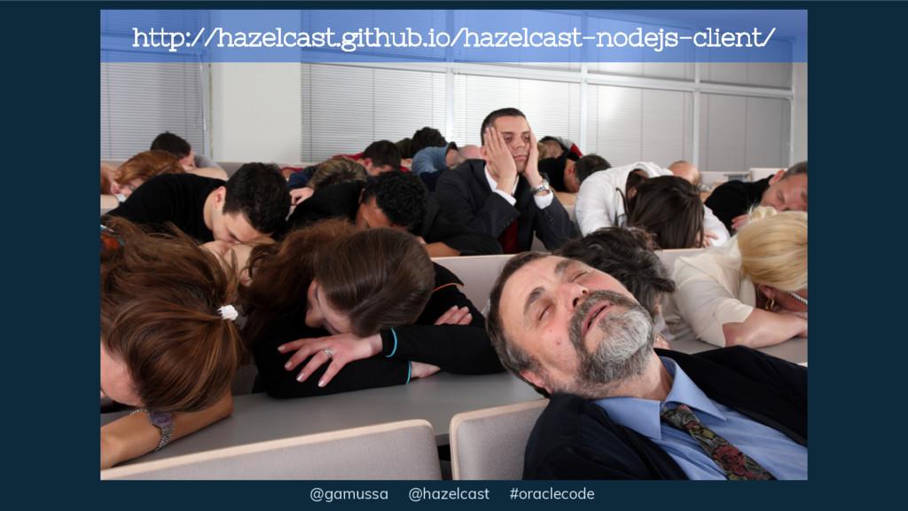 @gamussa @hazelcast #oraclecode http://hazelcas...
