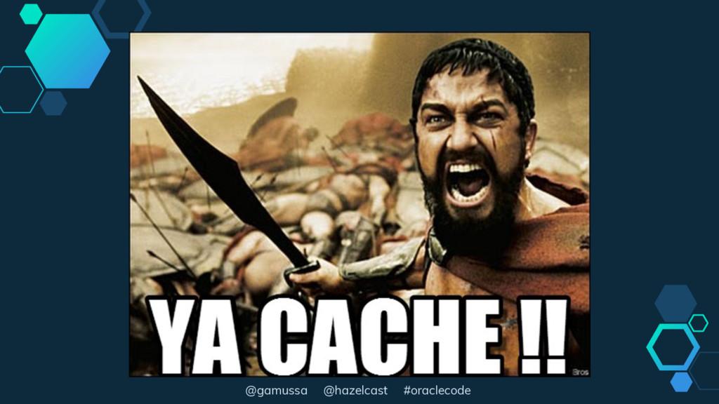 @gamussa @hazelcast #oraclecode