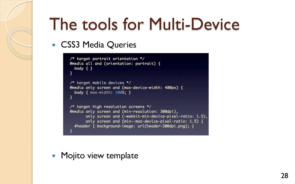 The tools for Multi-Device — CSS3 Media Queri...