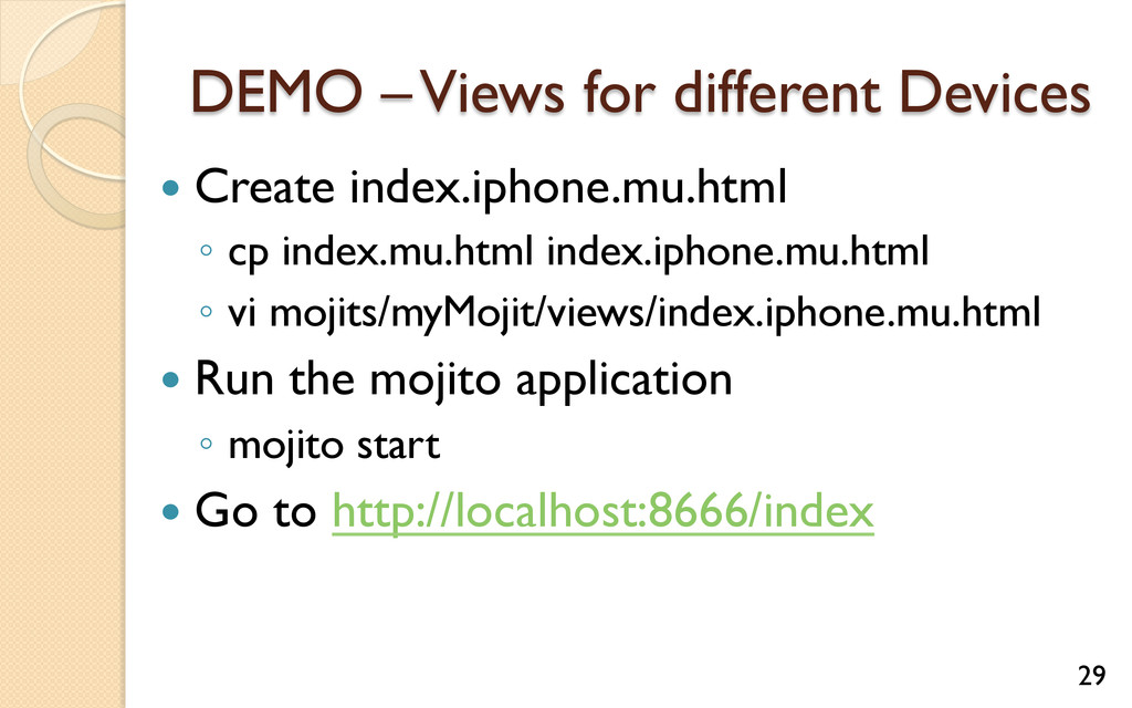 DEMO – Views for different Devices — Create i...