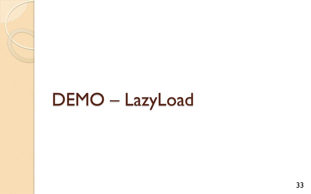 DEMO – LazyLoad 33