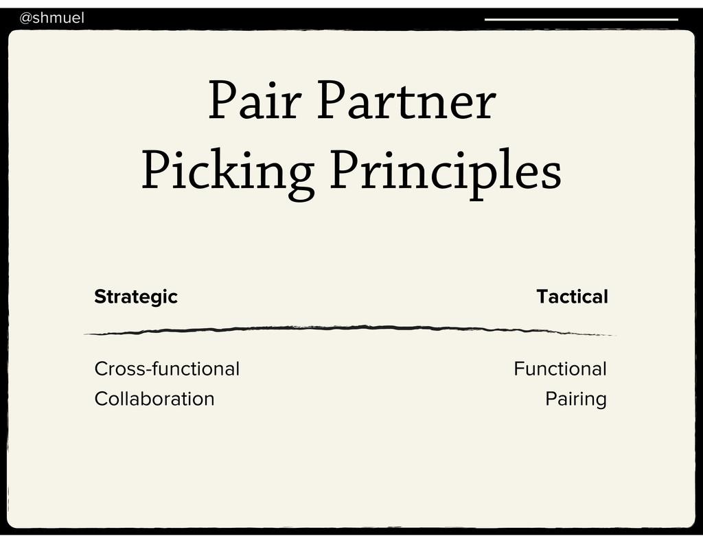 @shmuel Pair Partner Picking Principles Strateg...