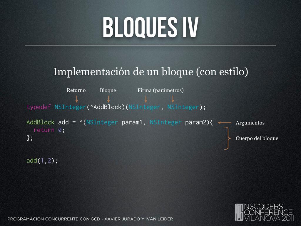 Bloques IV PROGRAMACIÓN CONCURRENTE CON GCD - X...