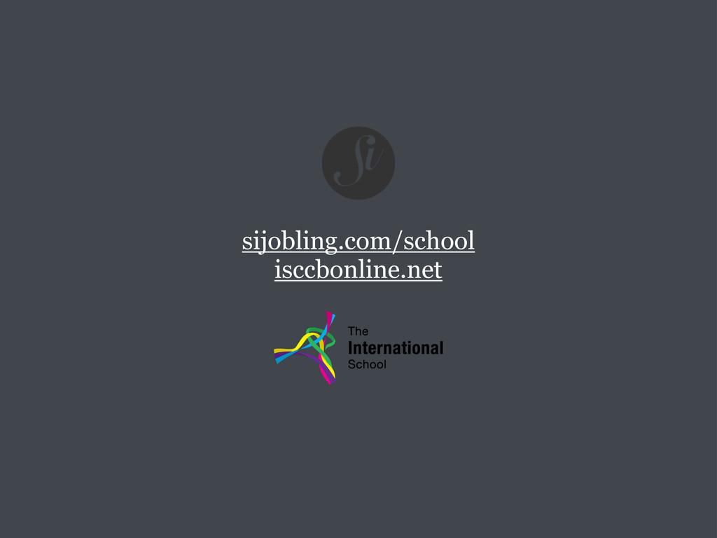 sijobling.com/school isccbonline.net