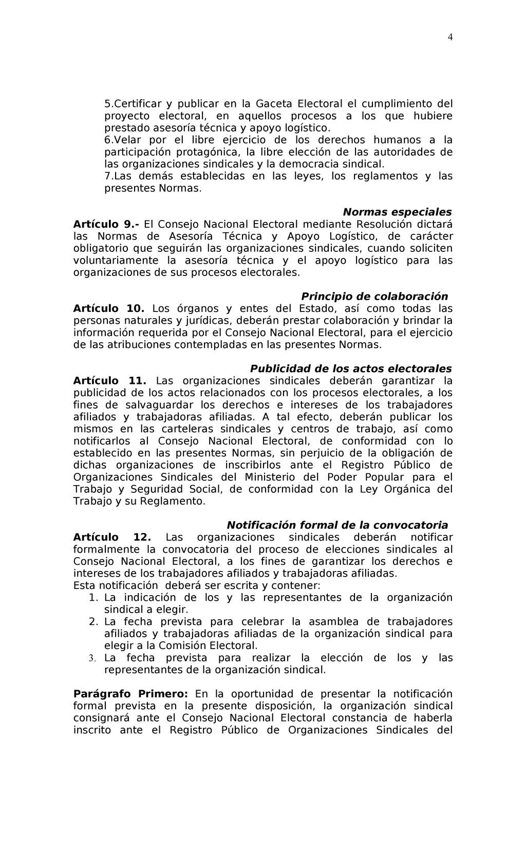 5.Certificar y publicar en la Gaceta Electoral ...