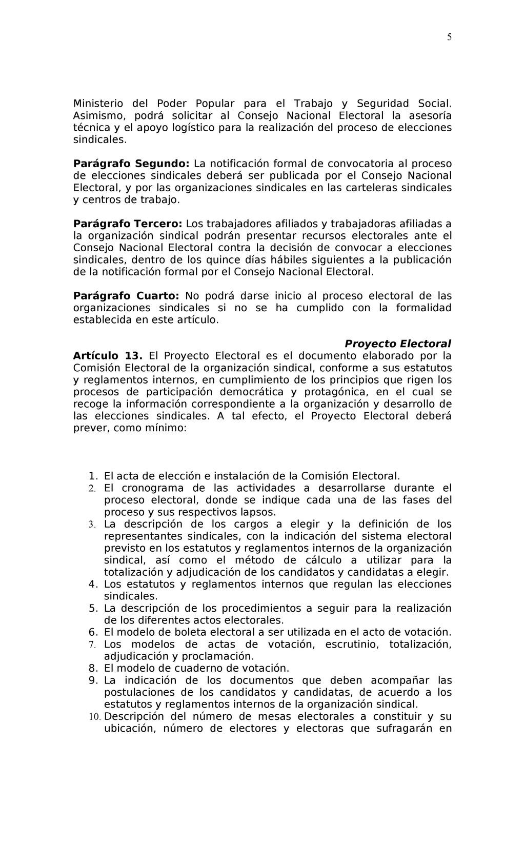 Ministerio del Poder Popular para el Trabajo y ...