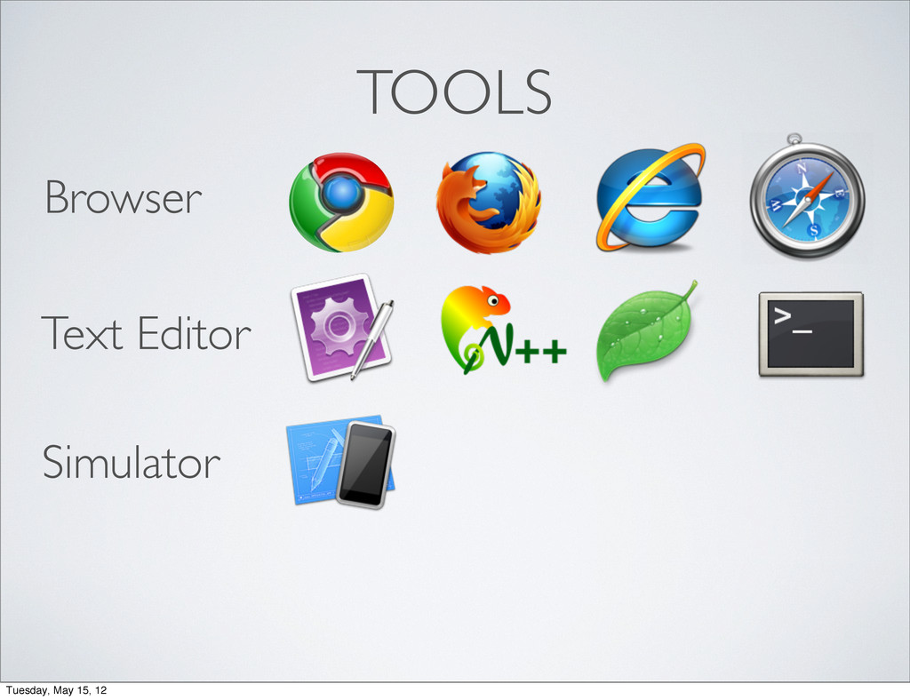 TOOLS Browser Text Editor Simulator Tuesday, Ma...