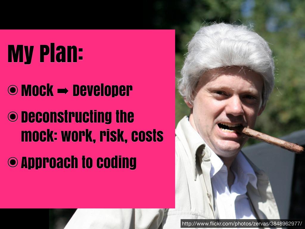 ๏Mock ➡ Developer ๏Deconstructing the mock: wor...