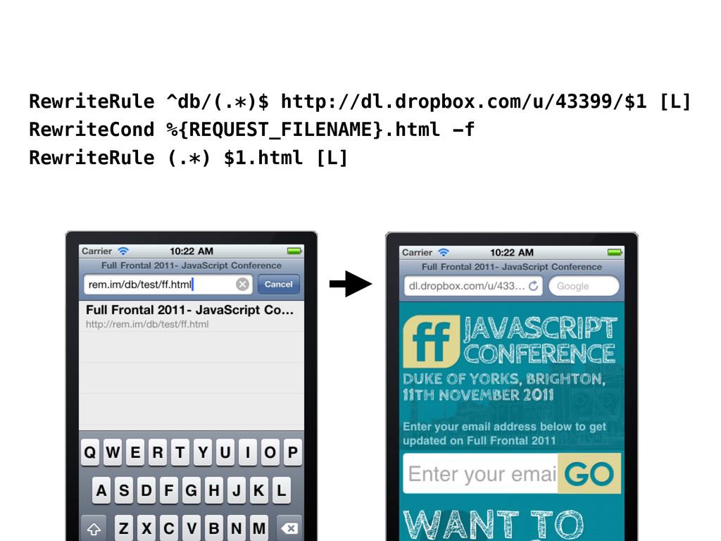 RewriteRule ^db/(.*)$ http://dl.dropbox.com/u/4...