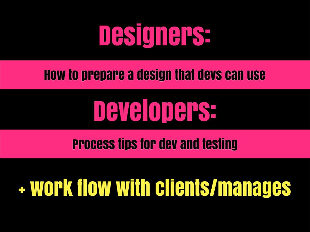 Designers: How to prepare a design that devs ca...