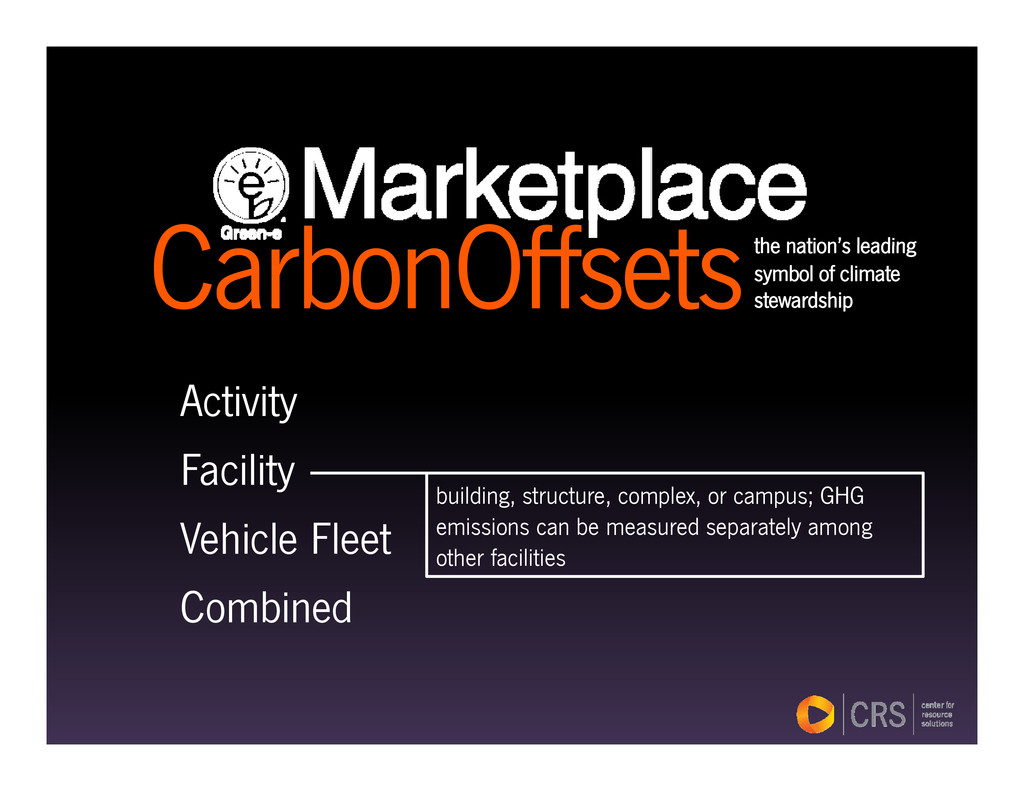 C b Off t the nation's leading CarbonOffsetsthe...
