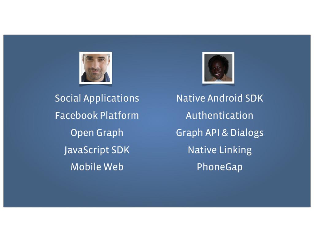Social Applications Facebook Platform Open Grap...