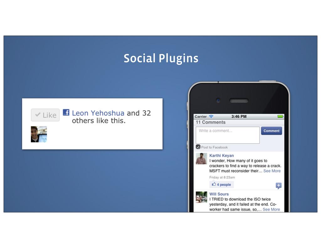 Social Plugins