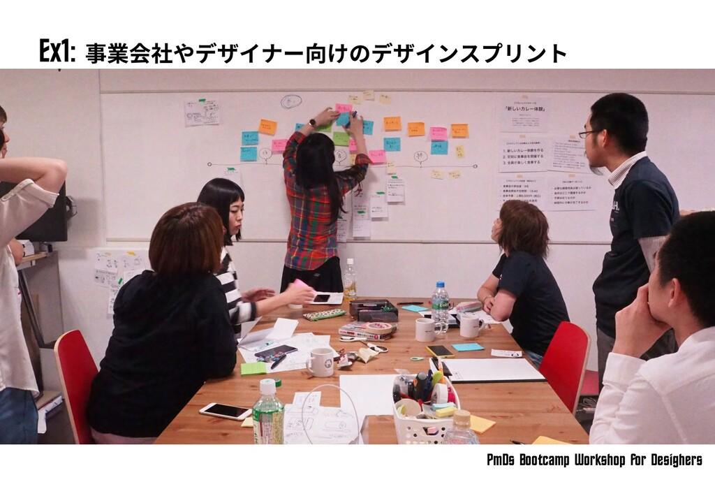 PmDs Bootc^mp Workshop for Desighers Ex1: