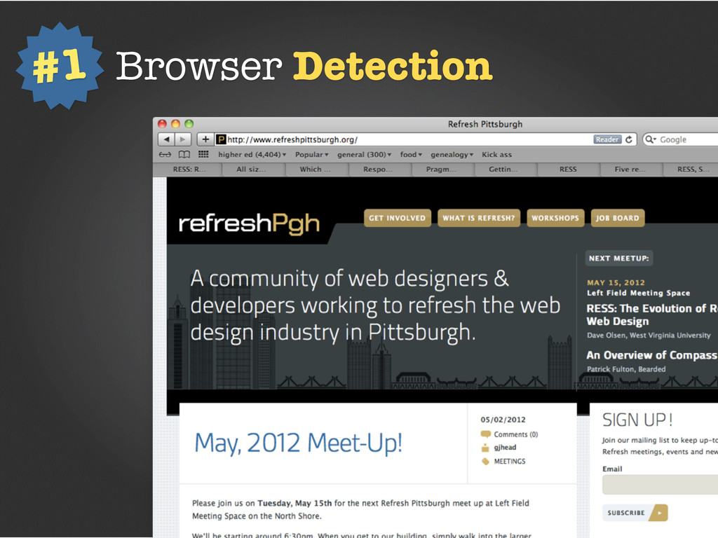 Browser Detection #1