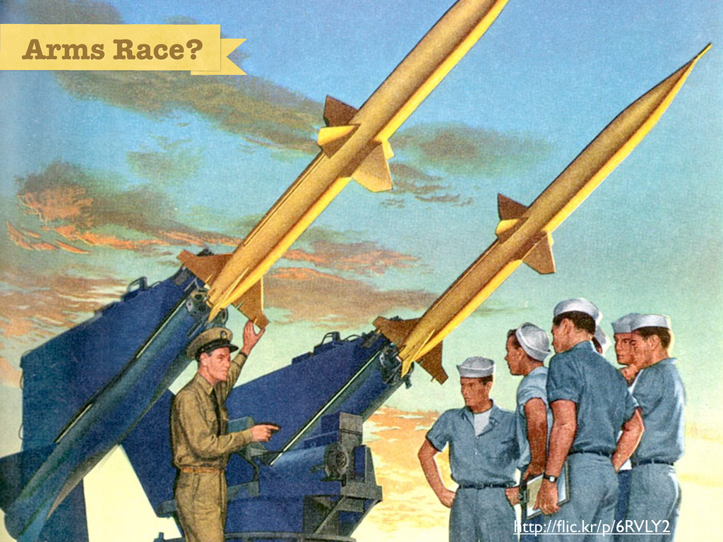 Arms Race? http://flic.kr/p/6RVLY2