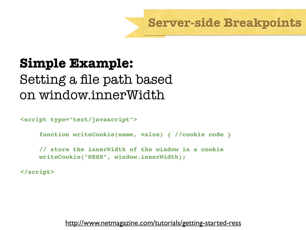 Simple Example: Setting a file path based on win...